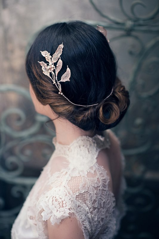 Ethereal Nature-Inspired Bridal Accessories Collection From Cherished