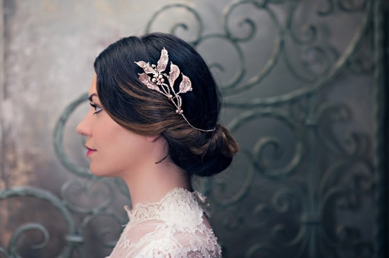 Picture Of ethereal nature inspired bridal accessories collection from cherished  12