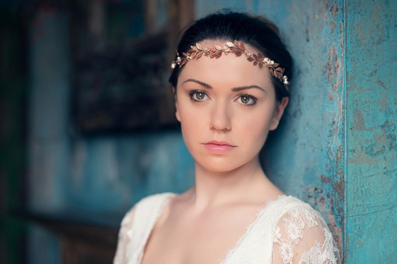 Picture Of ethereal nature inspired bridal accessories collection from cherished  13
