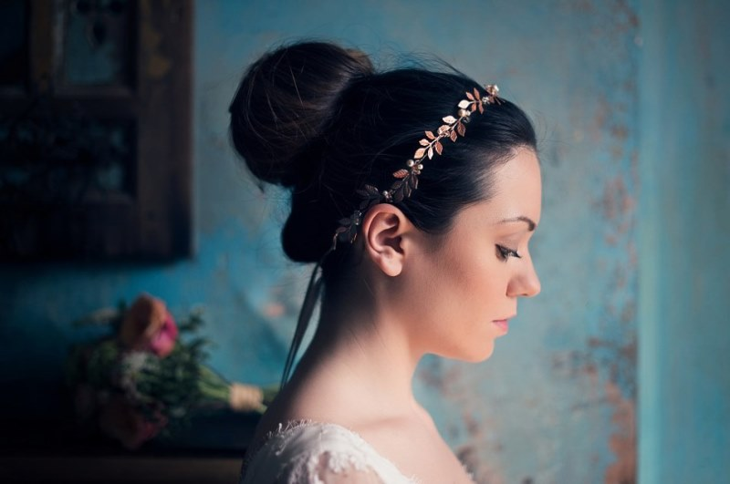 Picture Of ethereal nature inspired bridal accessories collection from cherished  2