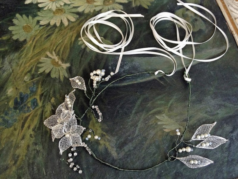 Picture Of ethereal nature inspired bridal accessories collection from cherished  3