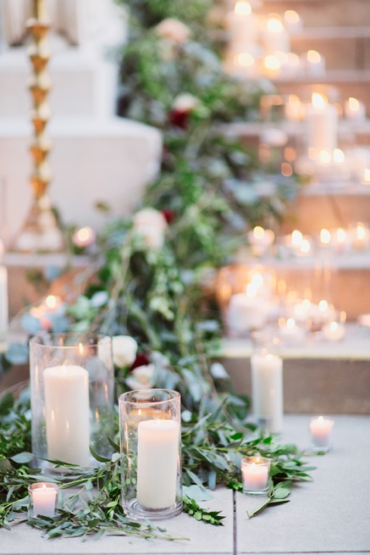 Fairytale Like Winter Romance Wedding Inspiration