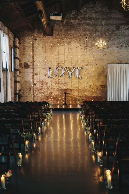 23 Industrial Wedding Ceremony Decor Ideas