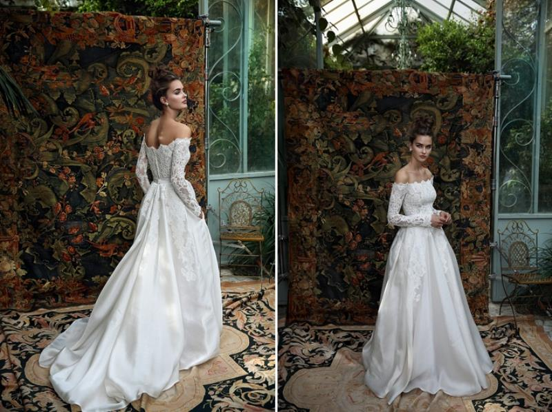 Picture Of more than beautiful white bohemian wedding dress collection from lili hod  11