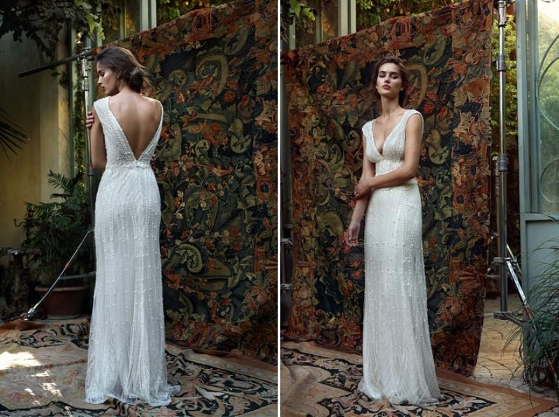 Picture Of more than beautiful white bohemian wedding dress collection from lili hod  12
