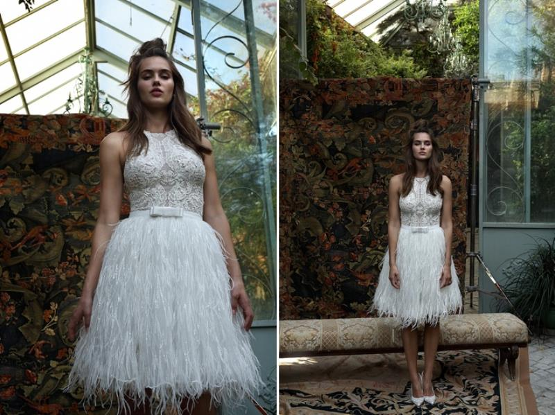 Picture Of more than beautiful white bohemian wedding dress collection from lili hod  14
