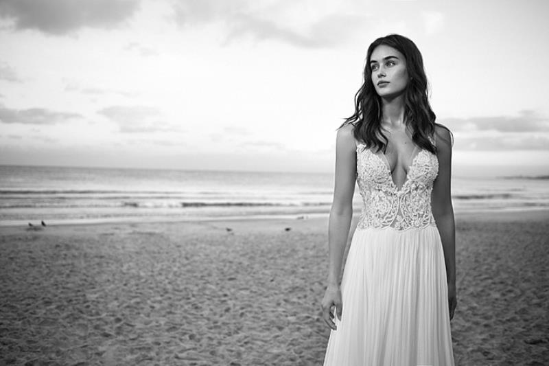 Picture Of more than beautiful white bohemian wedding dress collection from lili hod  15