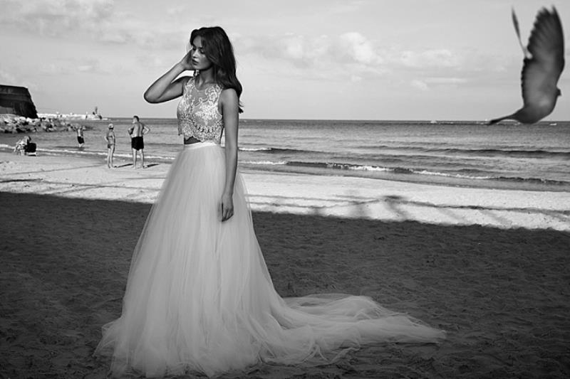 Picture Of more than beautiful white bohemian wedding dress collection from lili hod  21