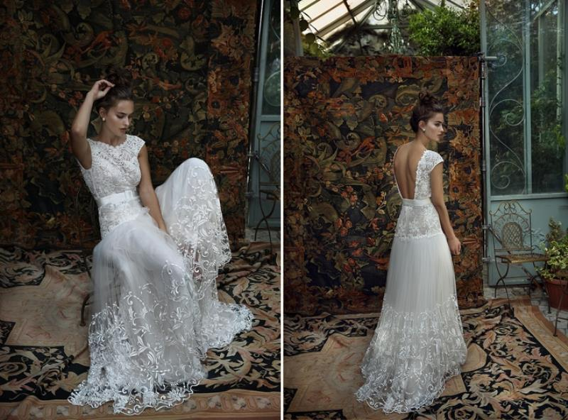 Picture Of more than beautiful white bohemian wedding dress collection from lili hod  4