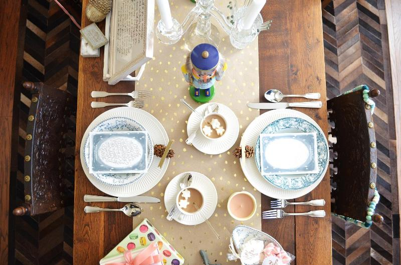 Picture Of playful and magical christmas holiday bridal shower  1