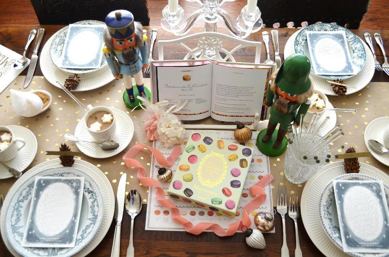 Picture Of playful and magical christmas holiday bridal shower  2