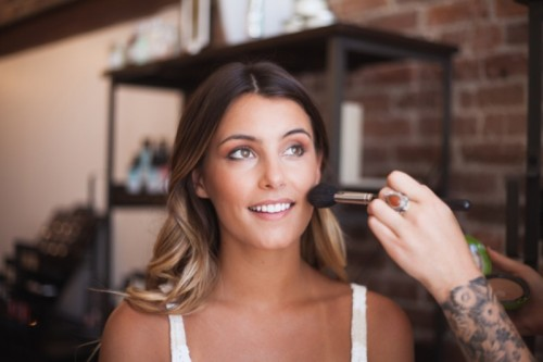 Relaxed Chic DIY Bohemian Braid And Makeup For A Bride