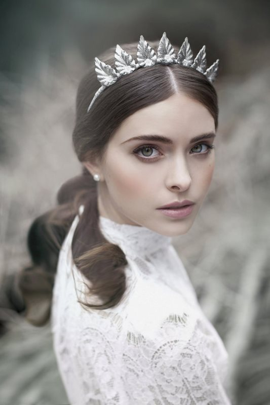 'The Evocative Prequel' Bridal Headpiece 2016 Collection From Viktoria Novak