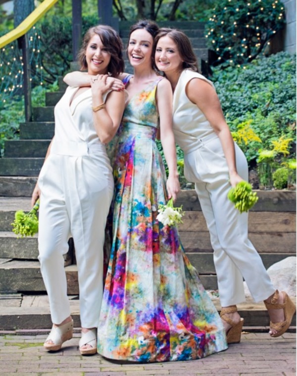 The Hottest Wedding Trend: 25 Stylish Bridesmaids Jumpsuits