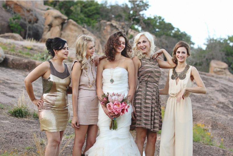 50e0bcaad597 43 Stylish Bridesmaids Jumpsuits To Rock - Weddingomania