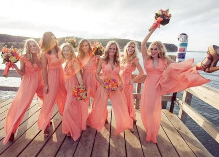 f3fb9e90d4 Nigerian wedding trend  Stylish jumpsuits for brides   bridesmaids ...