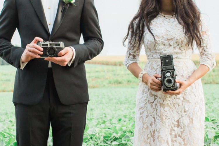 Unique 'Love Through Lenses' Wedding Inspirational Shoot