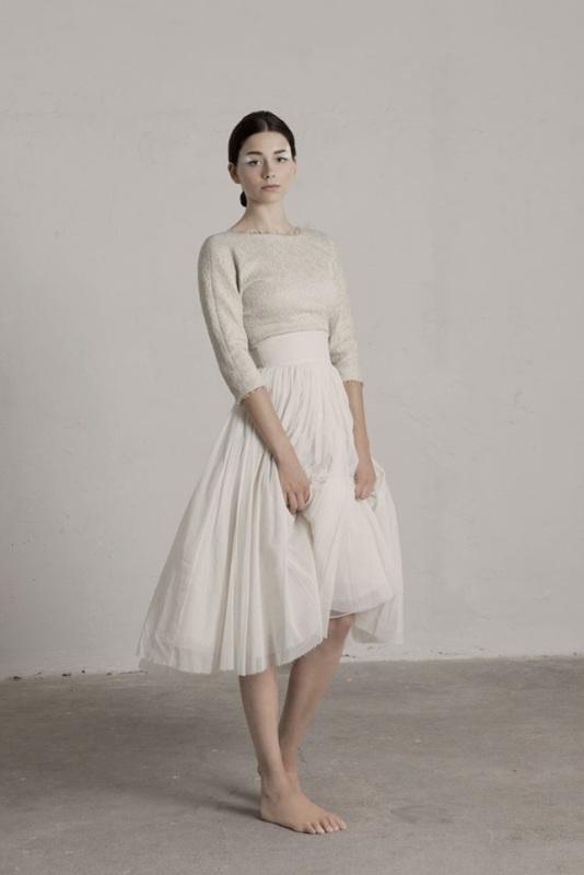 Graceful And Feminine Ballerina Inspired Wedding Dresses