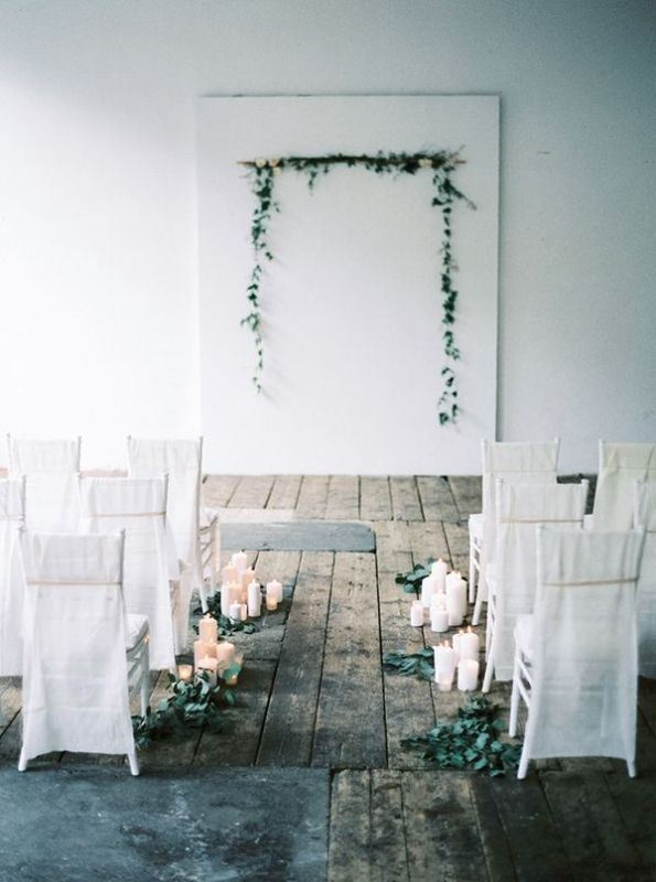 Picture Of romantic botanical wedding ceremonies  13