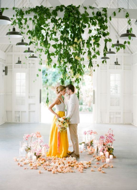 Picture Of romantic botanical wedding ceremonies  14