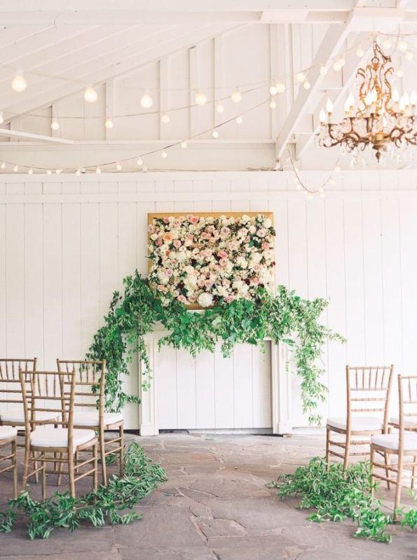 Picture Of romantic botanical wedding ceremonies  3