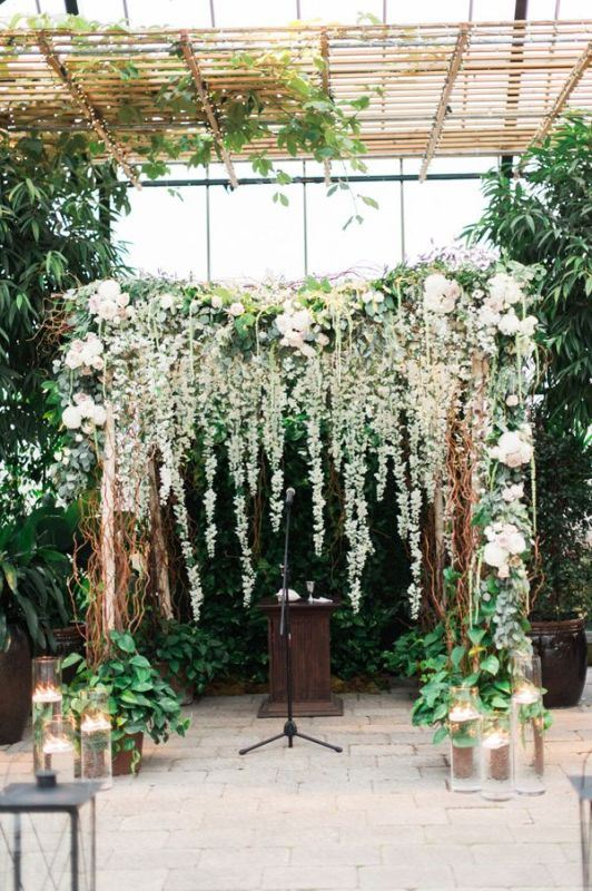 Picture Of romantic botanical wedding ceremonies  5