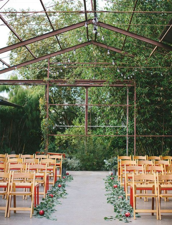 Picture Of romantic botanical wedding ceremonies  8