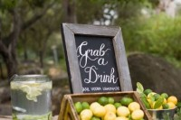 22 Juicy Ideas To Incorporate Lemons Into Your Wedding13