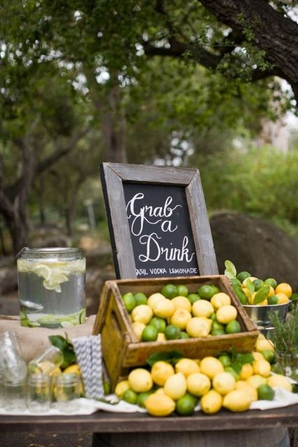 Picture Of Juicy Ideas To Incorporate Lemons Into Your Wedding 13
