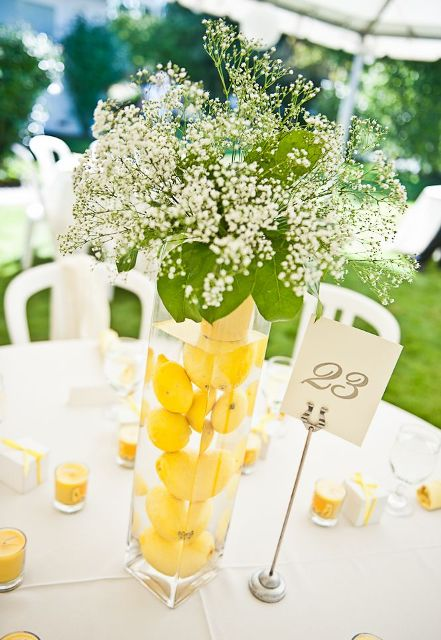 Picture Of Juicy Ideas To Incorporate Lemons Into Your Wedding 17