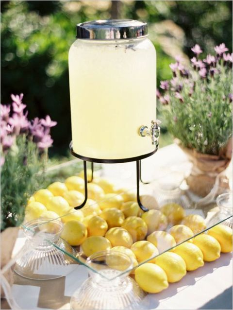 Picture Of Juicy Ideas To Incorporate Lemons Into Your Wedding 22