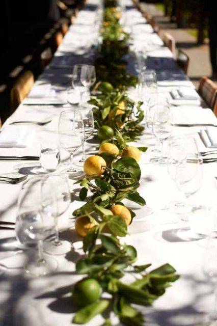 Picture Of Juicy Ideas To Incorporate Lemons Into Your Wedding 3