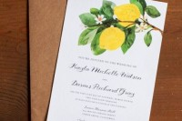22 Juicy Ideas To Incorporate Lemons Into Your Wedding7