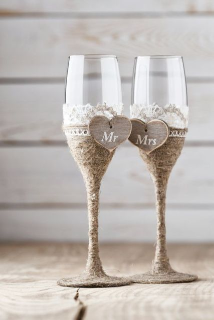 Picture Of Cozy Ideas Of Using Twine At Rustic Weddings 12
