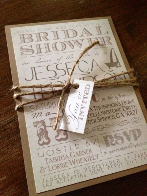 24 Cozy Ideas Of Using Twine For Wedding Decor