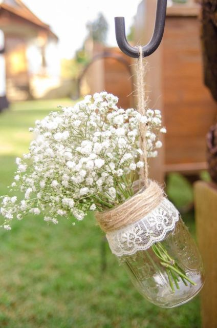 Picture of cozy ideas of using twine at rustic weddings 3 for Domesticated engineer table