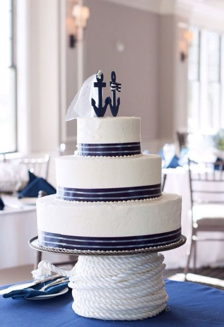 Cool Ideas To Incorporate Anchors Into Your Wedding