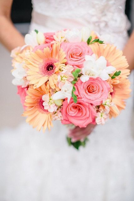 Colorful Ideas To Incorporate Gerberas Into Your Wedding