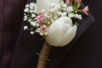 42 Beautiful Ideas To Incorporate Tulips Into Your Wedding 11