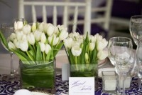 42 Beautiful Ideas To Incorporate Tulips Into Your Wedding 21