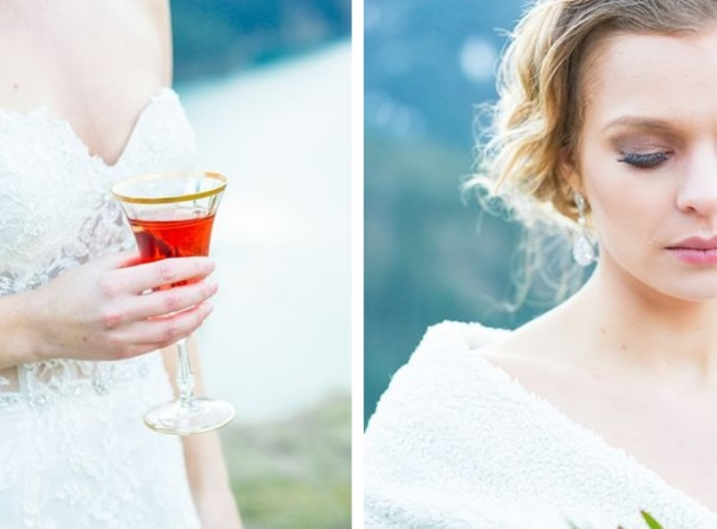 Picture Of breathtakingly beautiful cliffside bridal shoot on dablo lake  7
