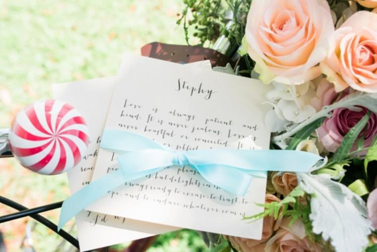 Creative 'Notebook' Inspired Retro Wedding Shoot