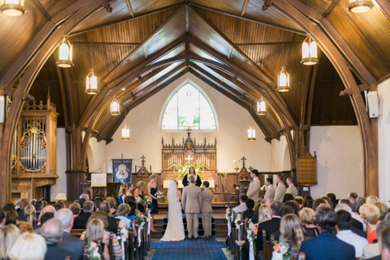 Picture Of intimate and lovely wedding at st marys school  7