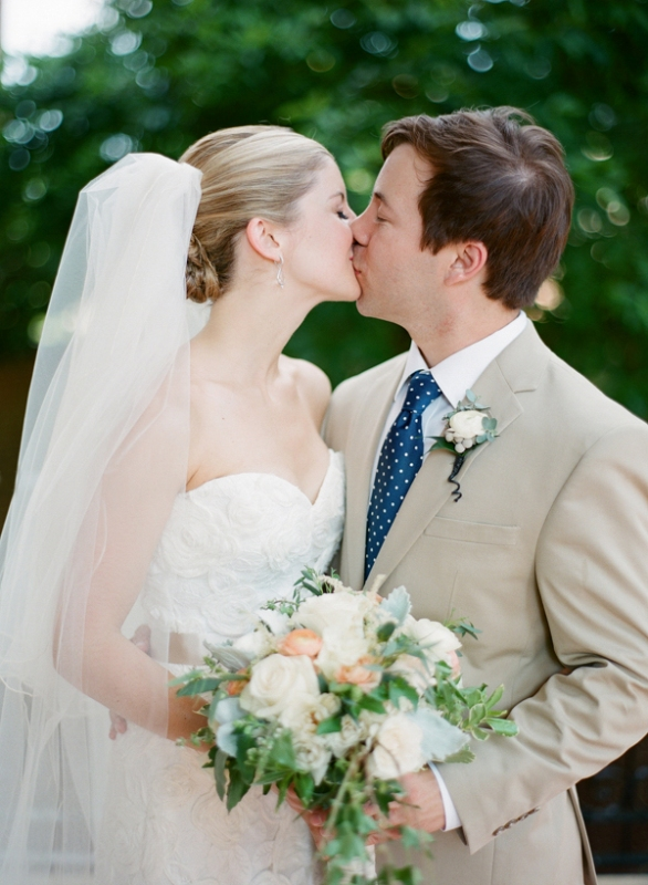 Intimate And Lovely Wedding At St. Mary's School