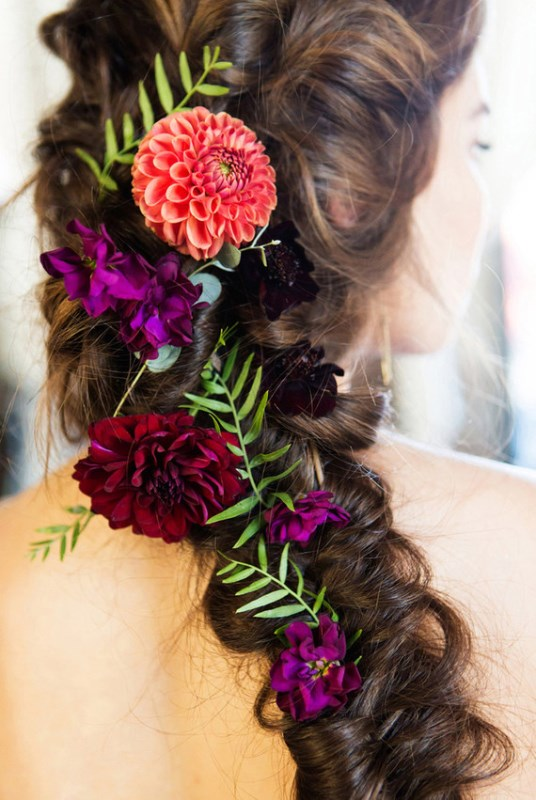 Jewel Toned Modern Industrial Wedding Inspiration