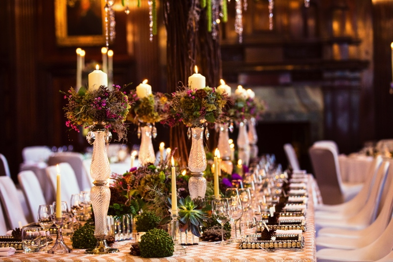 Picture Of luxurious winter opulence wedding styled shoot  11