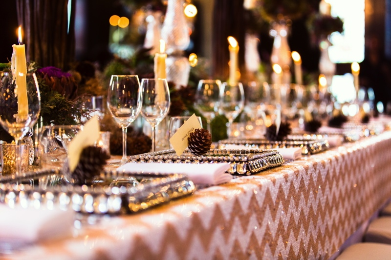 Picture Of luxurious winter opulence wedding styled shoot  14