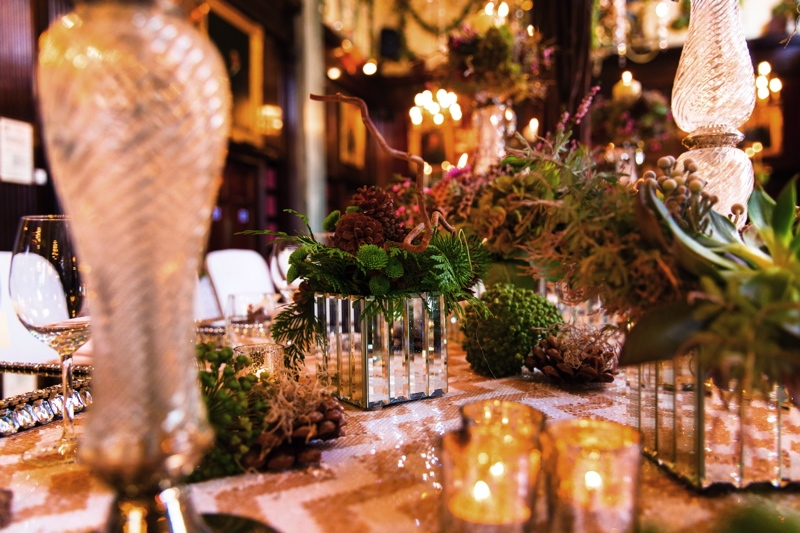 Picture Of luxurious winter opulence wedding styled shoot  16