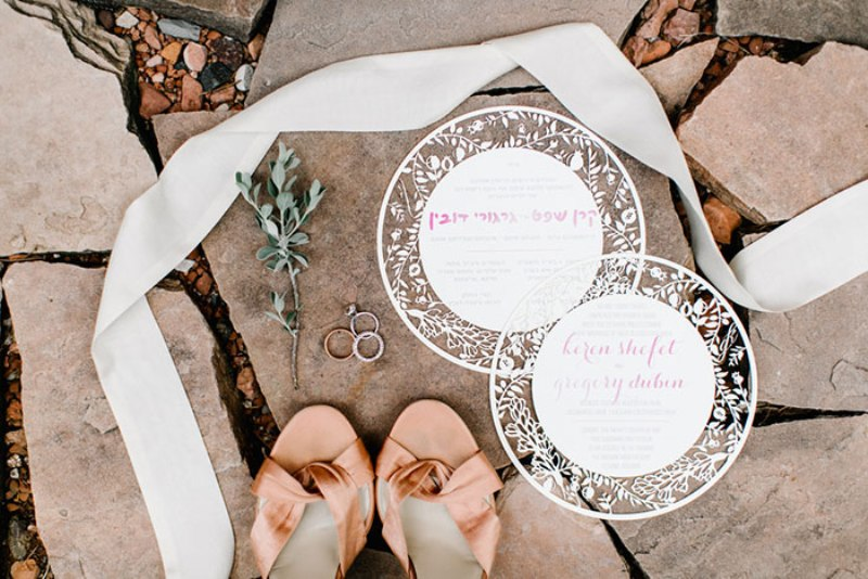 Picture Of romantic travel themed wedding in sedona  10