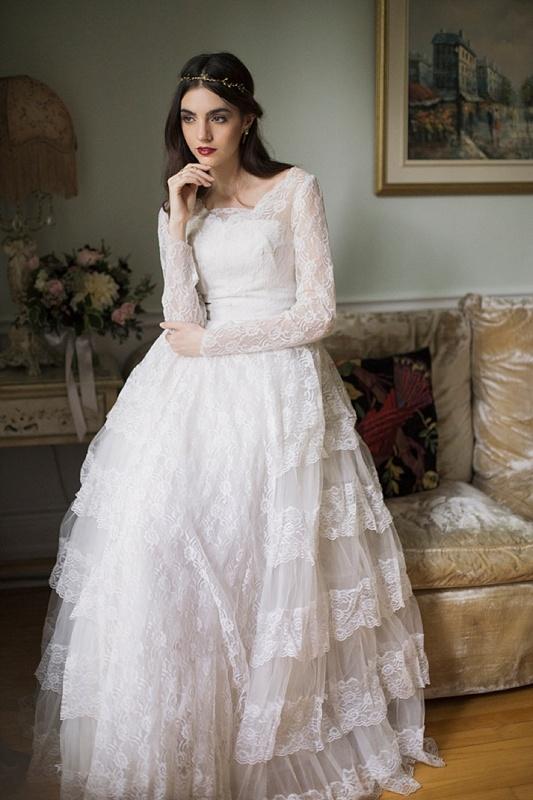 timelessly elegant line wedding dresses